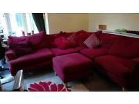 Corner suite modular red