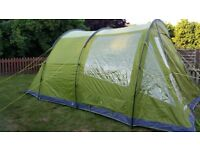 5 berth tent, and all accessories, used once.