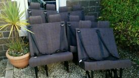 Free minibus seats 5 doubles with seat belts