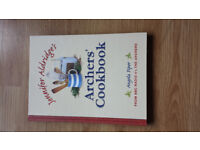 Signed Archers' cookbook - ideal Christmas present