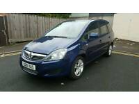 VAUXHALL ZAFIRA 1.6 CLUB LPG CONVERSION 2010 7 SEATER