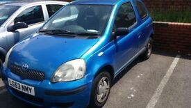 Toyota Yaris 1 litre Very reliable mechanically with low mileage