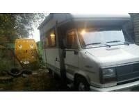 Motor home campervan