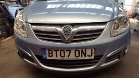 vaxhall corsa D 1.7 2007 breaking for spare parts