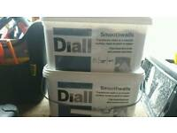 Diall Smooth walls (Pure brilliant white base coat) 5 litres (each)