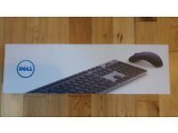 Dell Premier Wireless Keyboard and Mouse - KM717 - NEW
