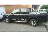 2002 ford ranger double cab xlt