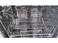 Zanussi Integrated Dishwasher Used