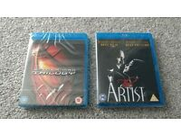 Blu ray videos. New and sealed