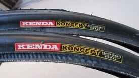 BRAND NEW Bicycle Tyres. 'KENDA KONCEPT' 24 x 1. (23-540). £6 each.