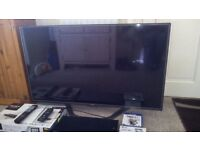 "47"" lg led 3d full hd smart tv and sony 3d blueray player"