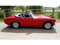 MG Midget Red 1969