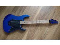 *PRICE DROP* Ibanez RG350MZ Electric Guitar. Starlight Blue