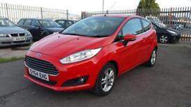 2014 Ford Fiesta zetec 1.2 petrol 3 door hatchback genuine low mileage