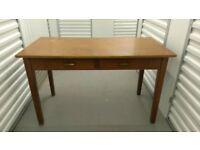 Large desk, wood, £25 or best offer