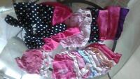 0-3 mth Girls Clothing Lot