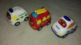 Toot toot emergency vehicles