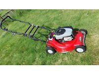 Petrol lawn mower Rover Pro Cut 560 self propelling heavy duty mulching mower
