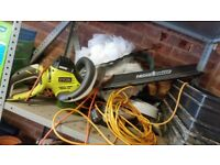 Ryobi RHT6560RL Hedge Trimmer with HedgeSweep, 650W - Never Used - In original box