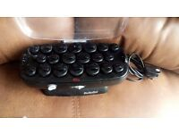 Babyliss heated hair rollers with clips