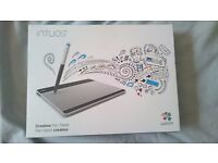 Wacom Intuos Graphics Tablet and Pen