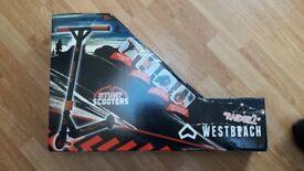 Westbeach raider 2 stunt scooter (Brand New)
