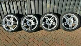 Mercedes 18 AMG alloys