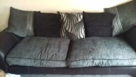 large 4 sofa 240cm long only 12 months old cost over 500 want 200 ono arms come for moving