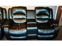 2 seater reclining couch