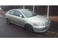Toyota Avensis D4D Tspirit Fully Loaded, MOT, SOLID Engine, Gearbox, Clutch & Flywheel, Leather&Fogs