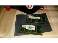 2gb Laptop Memory Ram PC2 5300