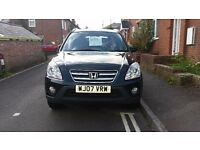 Honda CRV mot due march 2017 no advisories cd player new rear tyres new discs and pads