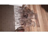 9 x Kozel pint glasses