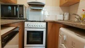 Gas cooker 55 cm with microwave free