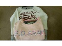 Superdry x 2 size 8/10
