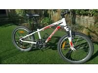 Specialized Hotrock white 20inch wheel kids bike