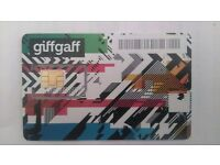 Giffgaff Sim Card With £5 Free Credit On Once Activated Online.