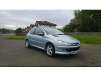 2005 Peugeot 206 1.6 Sport 3 Door Manual Petrol - MOT March 2017 - 3 Owners - 54984 Miles From New