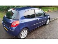 BLUE RENAULT CLIO FOR SALE