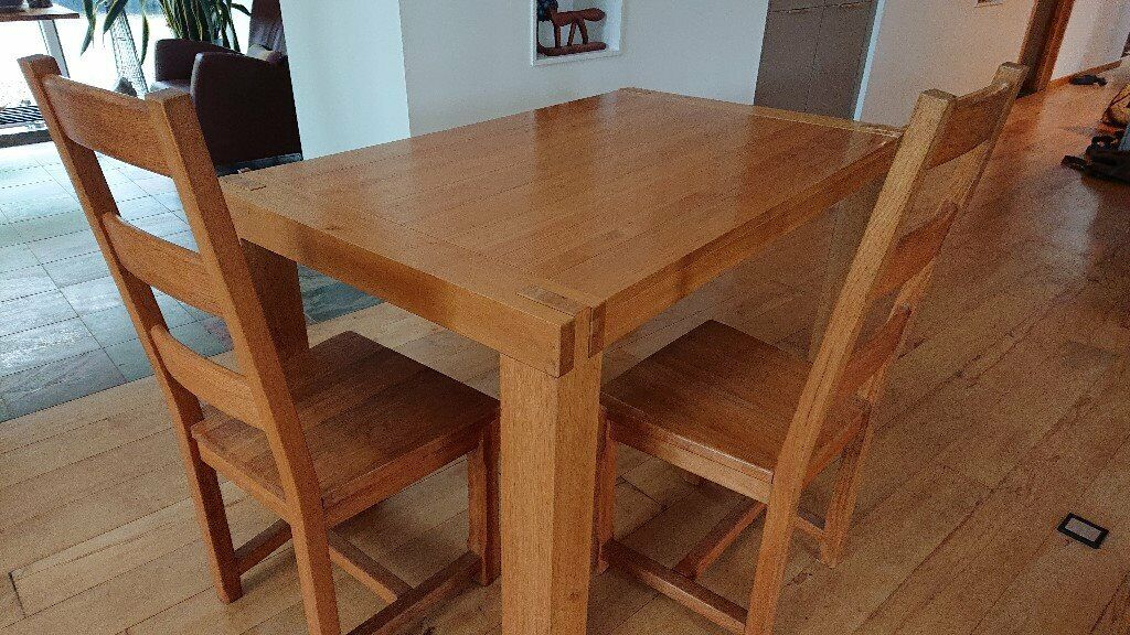 Solid Oak Extending Dining Table And 8 Solid Oak Dining Chairs In Perth Perth And Kinross Gumtree
