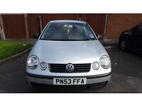 Volkswagen POLO 1.2 Twist Silver FOR SALE SOLD AS SEEN!!!! Great car for a new Driver.