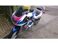 2x Suzuki RG 125's