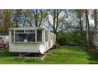 Static Caravan at Emberton Country Park with Solar Energy and Extras