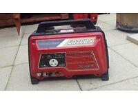Honda suitcase generator 700 ( needs pullstart)