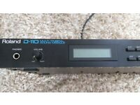Roland D110 multi timbral sound module in good condition.Studio use only - no manual