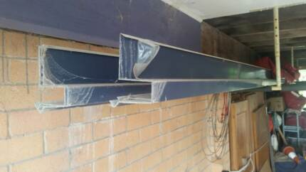 "Roof Flashing - Barge Gutter - Lysaught ""Deep Ocean"" - 4pc x 7.2M"