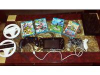 Zelda Windwaker Edition Wii U Console With 4 Controllers,4 Games including Zelda BOTW and Mariokart