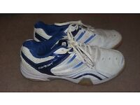 Mens Carlton Squash shoes-Size Euro 43