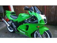 Kawasaki zx750r 1996.