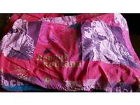 3 hannah Montana bed covers for sale